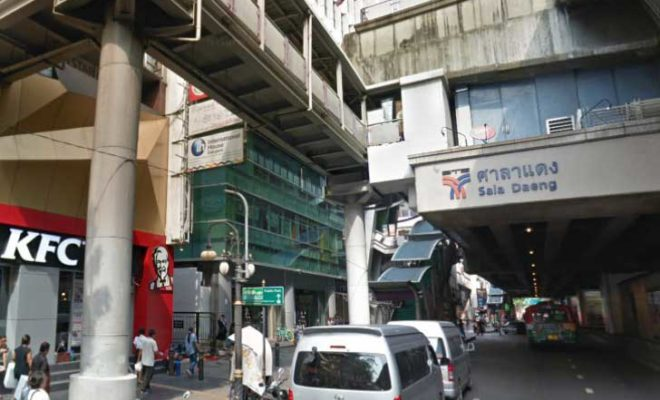 サラデーン駅(Sala Daeng Station)