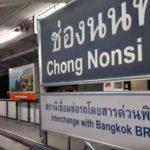 チョンノンシー駅(Chong Nonsi Station)