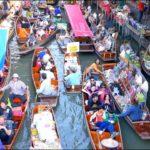 ダムヌン・サドゥアック水上マーケット(Damnoen Saduak Floating Market)